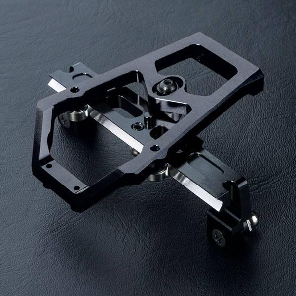 MST MXSPD210410BK XXX Alum. slide rack steering set (black) by MST