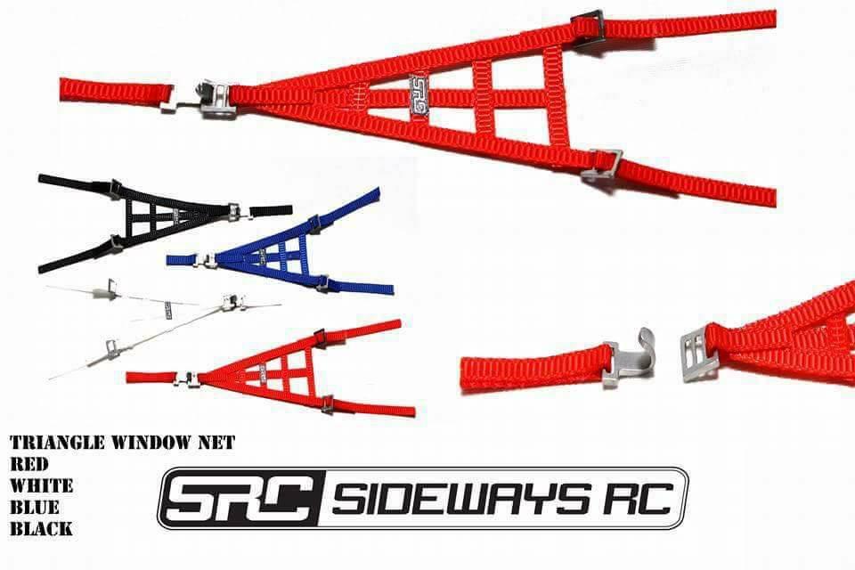 SRC STRTRIR Triangle Window Net Red by SRC