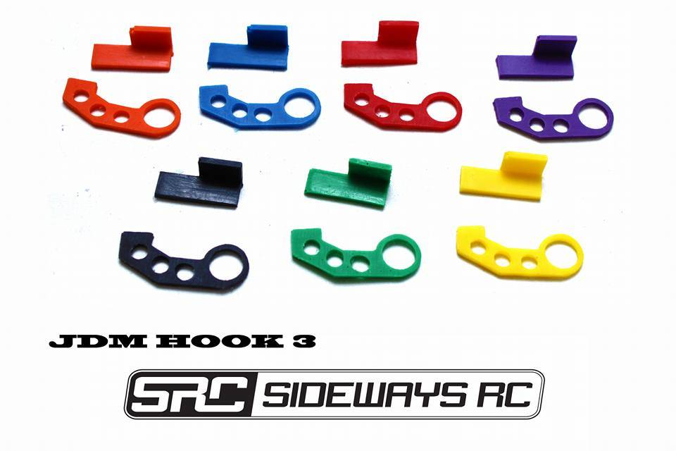SRC SRCTOW3P JDM TOW HOOK STYLE 3 Purple BY SRC