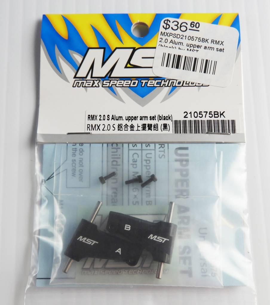 MST MXPSD210575BK RMX 2.0 Alum. upper arm set (black) by MST