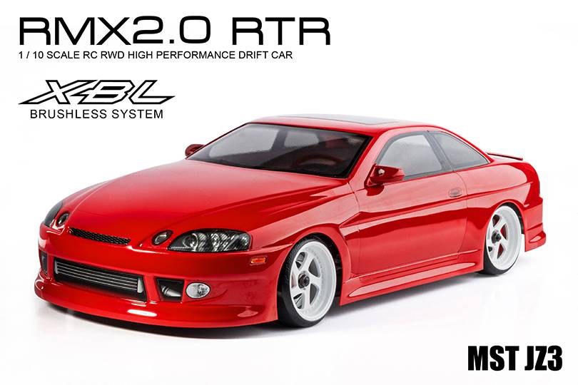 MST MXSPD533707R RMX 2.0 1/10 Scale 2WD RTR EP Drift Car JZ3 (soarer) (red) (brushless) by MST