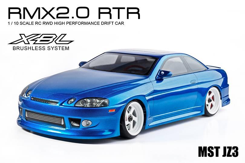 MST MXSPD533707B RMX 2.0 1/10 2WD RTR EP Drift Car (brushless) JZ3 (soarer) (blue) by MST533707B