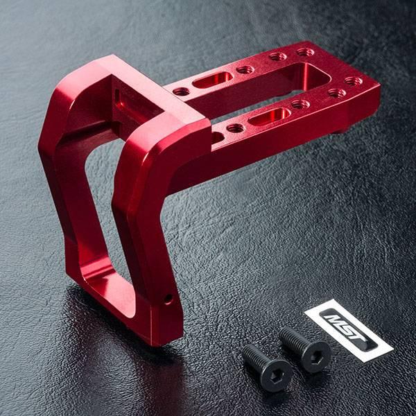 MST MXPD210599R RMX 2.0 Alum. head mount (red) by MST