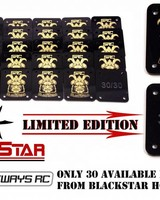 SRC *Pre-Order* SRCDIFPLTLE Rear Diffuser Plate Collab by SRC and Black Star Hobbies