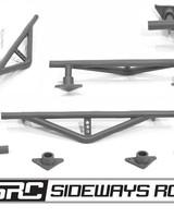 SRC SRCCSHBRBK Rear Crash Bar Black by SRC