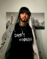 Drift Ninjas RC DRN0005 Drift Ninjas RC T Shirt Black XXL