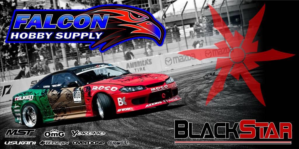 Black Star Hobbies BSH1001 Black Star Banner 4'x2' S15 FD