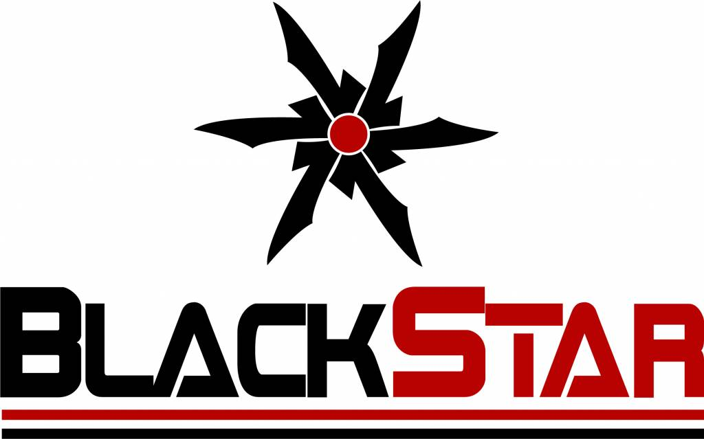 Black Star Hobbies BSH1002 Black Star Banner 5'x3' Plain Logo