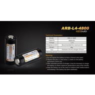 Fenix ARB-L4-4800 Rechargeable 26650 Battery