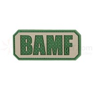 Maxpedition Patch BAMF Arid Green