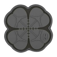 Maxpedition Patch LUCKY SHOT CLOVER Subdued Grey