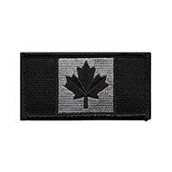 "CP Gear Canadian Flag Black Medium 1.75"" X 3.25"""