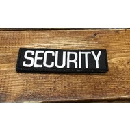 SECURITY Embroidered 1 X 3.5 Inch