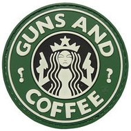 5ive Star Gear GUNS AND COFFEE Patch
