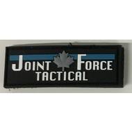 Joint Force Tactical JOINT FORCE TACTICAL PATCH (PVC) 1 X 2.8