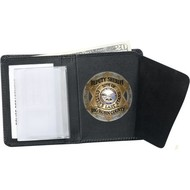 STRONG LEATHER CO Badge Wallet-Dress