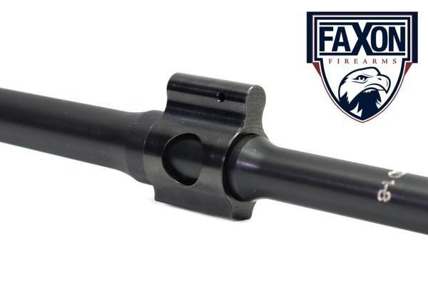 """Faxon 10.5"""" Gov't / Socom, 5.56 NATO, W/ Gas Block & Gas Tube"""