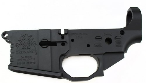 Black Rain Ordnance BLACK RAIN STRIPPED LOWER MILLED 556