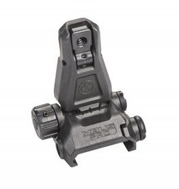 Magpul Industries MAGPUL MBUS PRO REAR FLIP SIGHT BLK