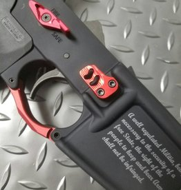 Complete RED Lower Receiver