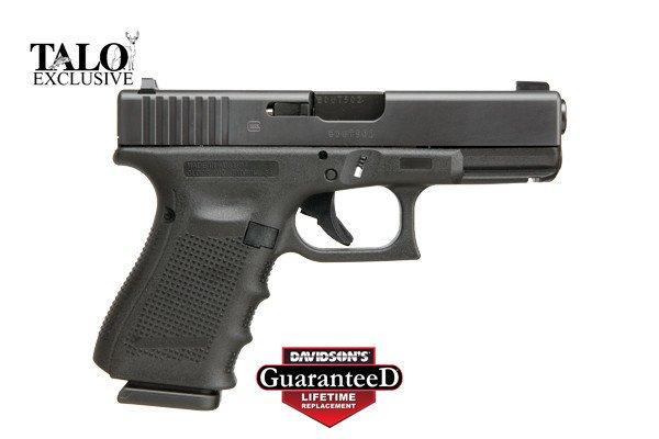 Glock 19 GEN4 9MM PST 15RD TALO W/ FRONT NIGHT SIGHT