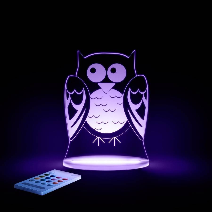 Aloka Aloka LED Night Light W/Remote Control
