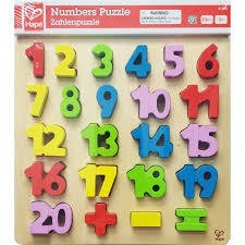 Hape Hape Numbers Puzzle