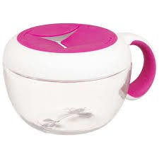 OXO OXO Tot Flippy Snack Cup W/Travel Cover - Pink