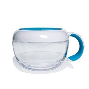 OXO OXO Tot Flippy Snack Cup W/Travel Cover - Aqua