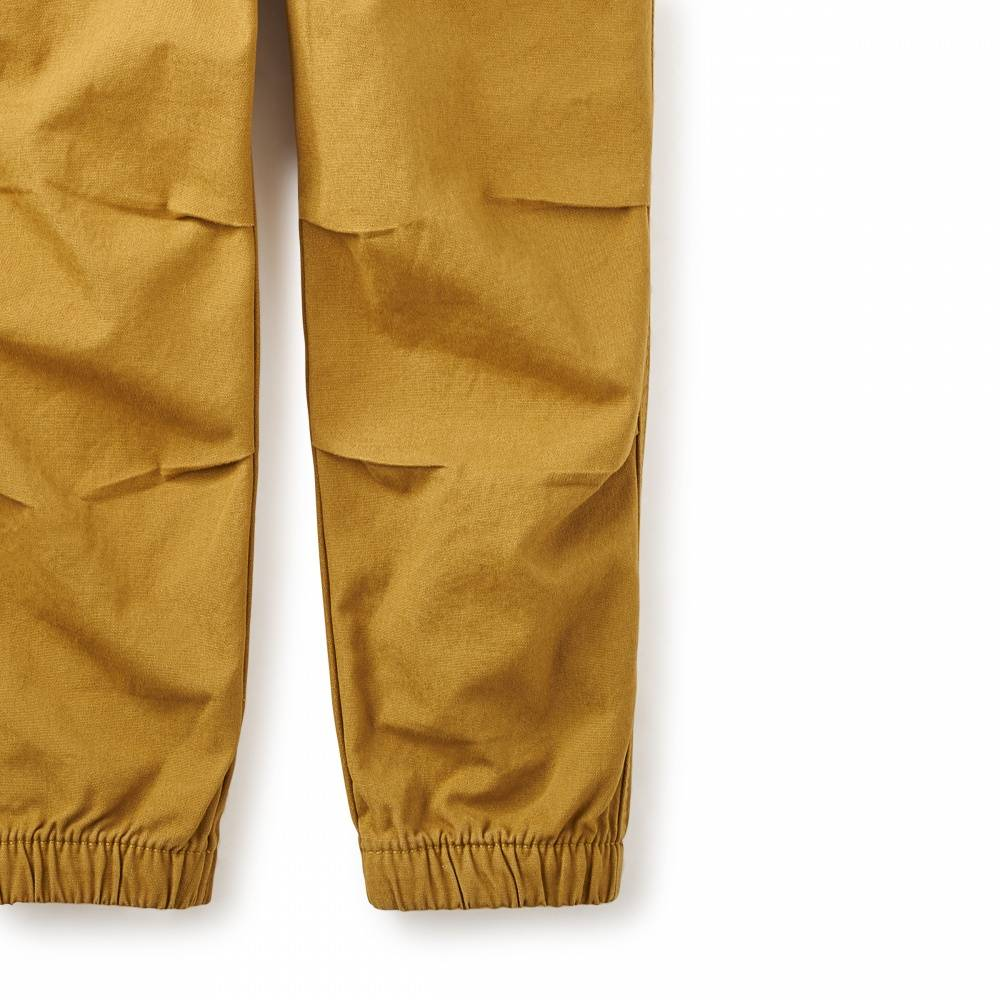 Tea Tea Canvas Jogger Pants
