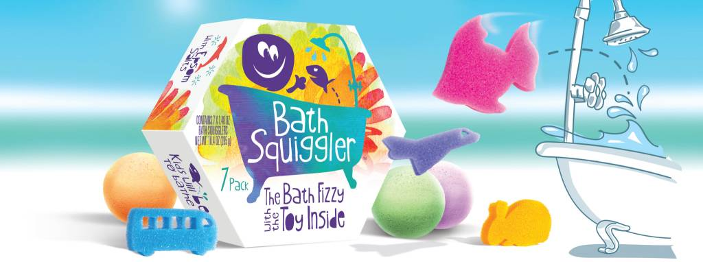 Loot Trading Bath Squigglers 7-pack