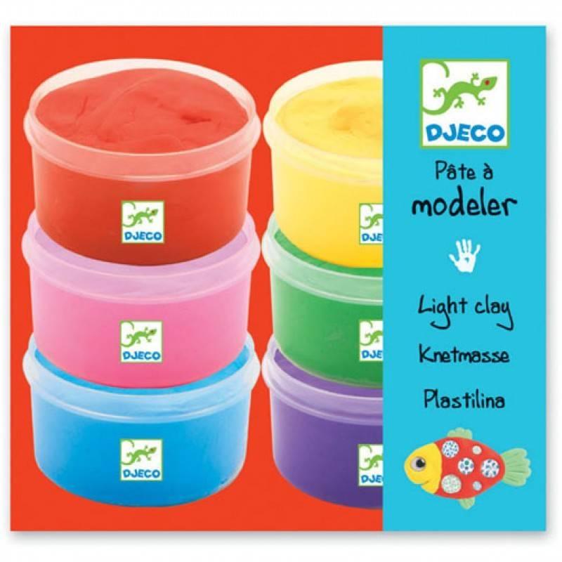 Djeco Djeco Modeling Clay / 6 Pots