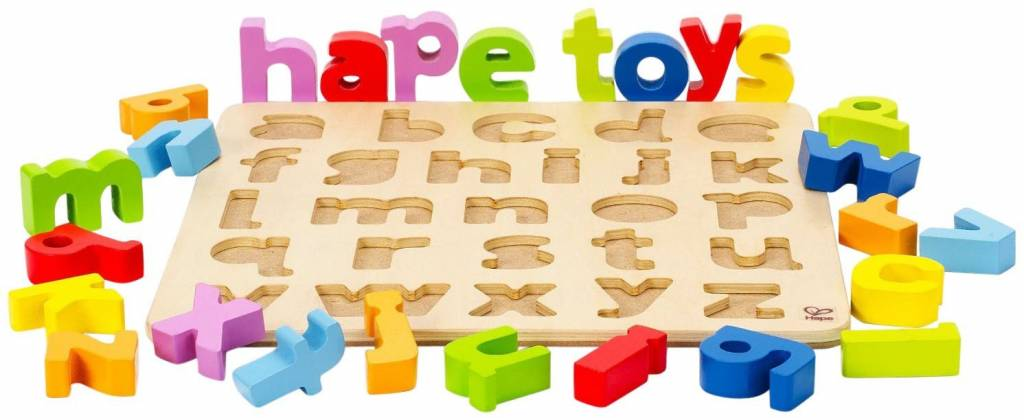 Hape Hape Lowercase Alphabet Puzzle