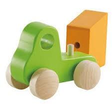 Hape Hape Little Dump Truck, Green