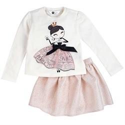 Petit Lem Petit Lem Girl 2Pcs Set T-shirt