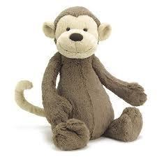 Jellycat Jellycat Bashful Monkey - Med