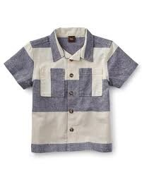 Tea Tea Sea Cliff Colorblock Shirt