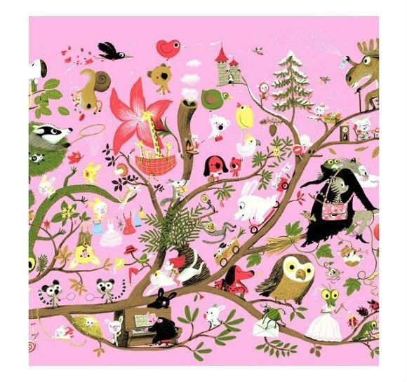 Djeco Djeco 200pcs Gallery Puzzle - Arbracadabra