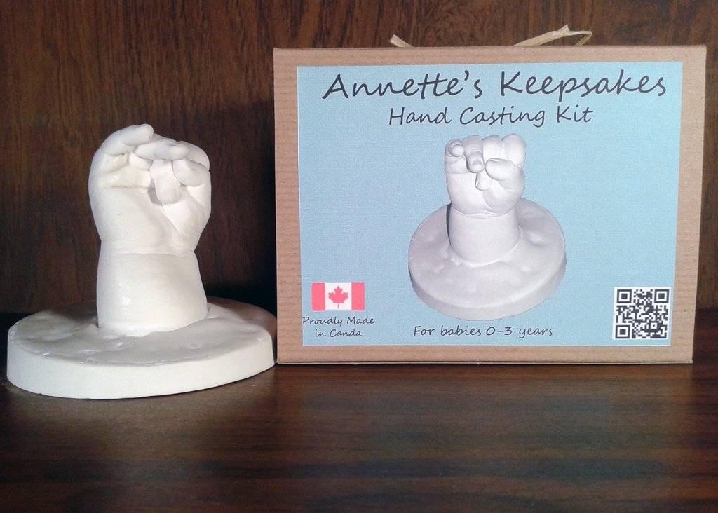 Annette Keepsakes Annettes Keepsakes Child Hand Casting Kit