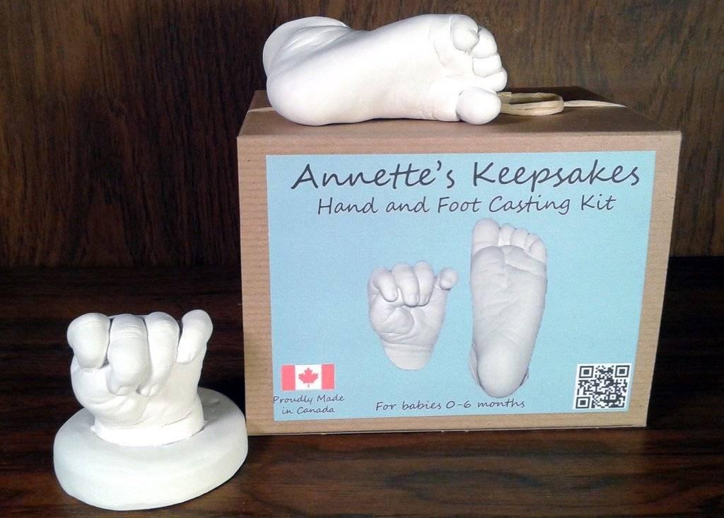 Annette Keepsakes Annettes Keepsakes Baby Hand & Foot Casting Kit