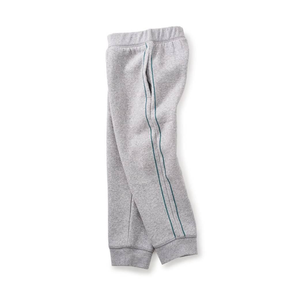 Tea Tea Side Stripe Fleece Pants