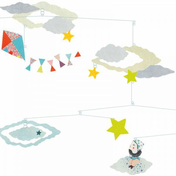 Djeco Djeco Paper Mobiles - Head In The Clouds