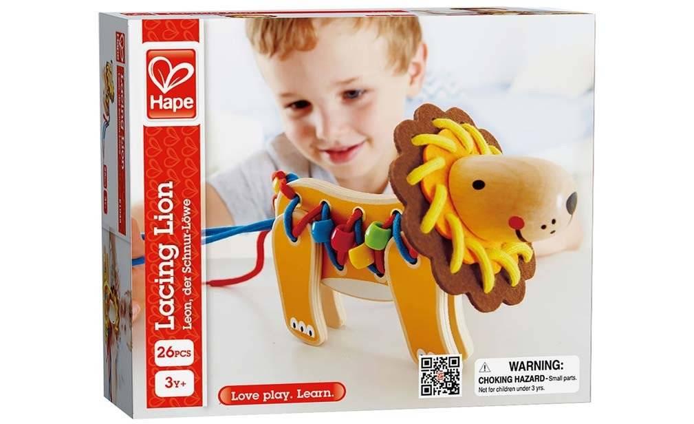 Hape Hape Lacing Lion