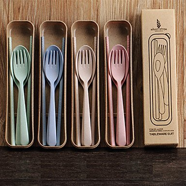 Dandelion Kids Wheat Straw Utensil Set