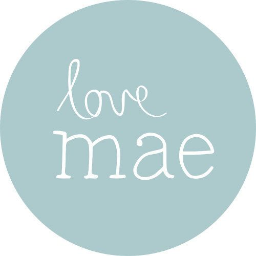 Love Mae Love Mae Mini Reusable Fabric Decals