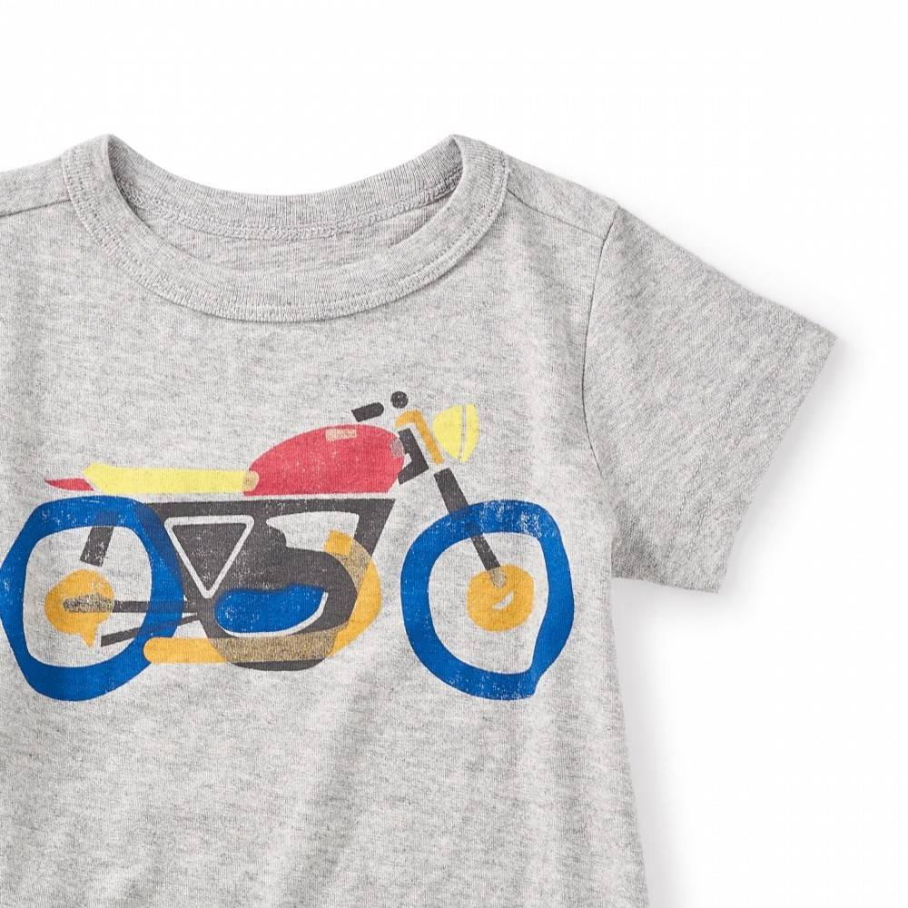 Tea Tea Motorbike Graphic Tee