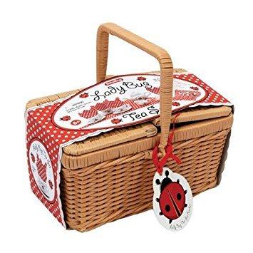 Schylling Schylling Ladybug Teaset Basket