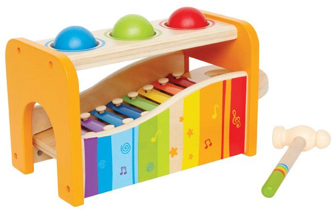 Hape Hape Tap and Pound Bench