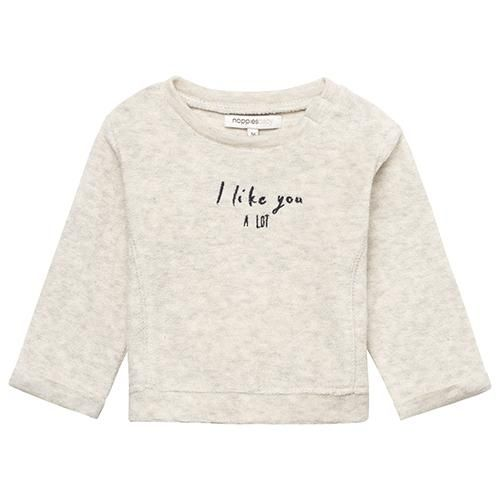 Noppies Noppies I LIKE YOU A LOT Sand Sweatshirt