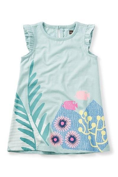 Tea Tea Graphic Baby Dress